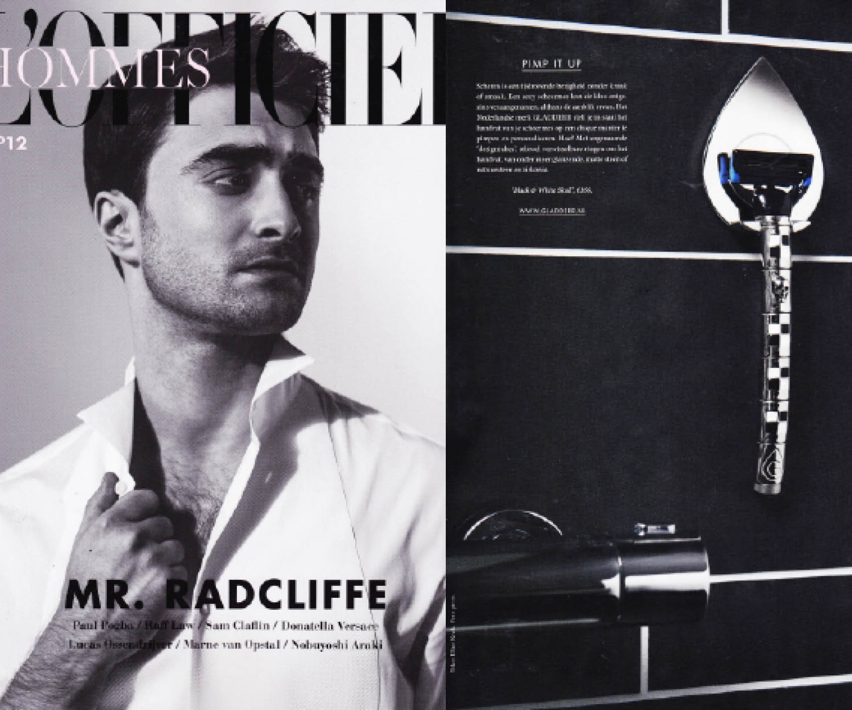 L'Officiel Hommes: Pimp it up