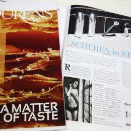 Lourens Magazine: Shaving in style